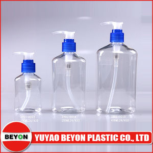 100ml Clear Oval Pump Bottle (ZY01-A012) pictures & photos