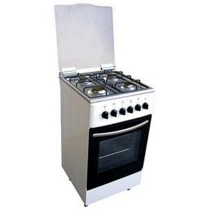 50*50cm Stainless Steel Body Free Standing Oven with 4 Burner pictures & photos