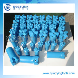 Hard Stone Rock Drilling Taper Cross Bit with Size 30mm-45mm pictures & photos