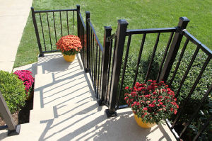 Galvanized Steel Balcony Balustrade Railing Dh-Railing-2
