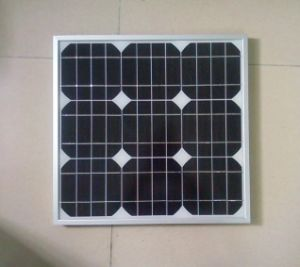 The High Quality 30W Monocrystalline Solar Panel pictures & photos