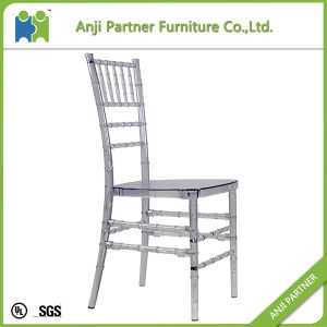 PC From Mould Injection Design Clear Color Straight Back Dining Chair (Hilary) pictures & photos