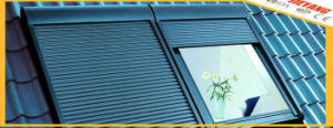 Automatic Thermal Insulation PU Inside Rolling Shutter Window pictures & photos