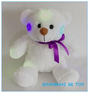 Logo Custom Lamp Flash Teddy Bear with LED Light pictures & photos