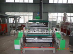 Single Layer Extrusion Stretch Film Machine with 600mm pictures & photos