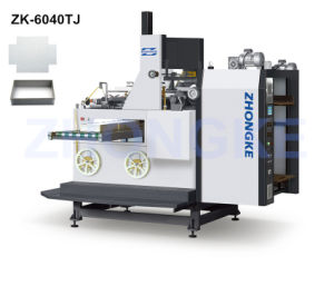 Box Angle Pasting Machine (ZK-6040TJ) pictures & photos