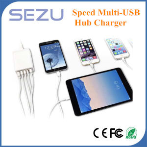 5A Desktop USB Quick Charger with EU Plug pictures & photos