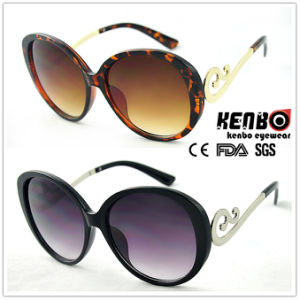Fashion Sunglasses with Nice Metal Temples for Accessory, CE FDA Kp50570 pictures & photos