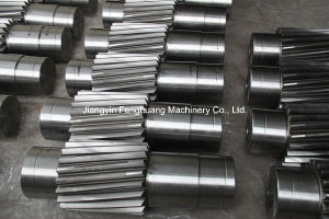 ASTM A105 with Gears Forged Shaft pictures & photos