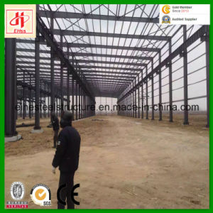 China Low Cost High Rise Prefabricated Steel Structure Warehouse pictures & photos
