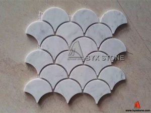 Carrara White Marble Mosaic for Wall and Floor Decoration pictures & photos