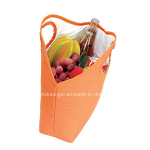 600d Polyester Tote Carry Insulated Cooler Bag