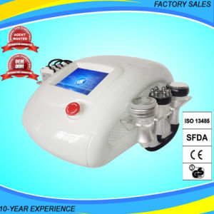 4 in 1 Lipolaser+RF+Vacuum+Cavitation Slimming Machine pictures & photos