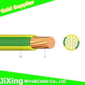 Copper Solid Electric Wire High Quality PVC Wire pictures & photos