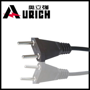 Switzerland Two Wire Power Cord Sev Authentication with Plug (Y004)