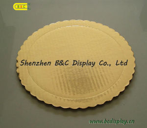 Manufacturer Gold Card Pad Round Mini Cake Boards, Cake Drums pictures & photos