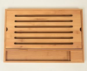 Eco-Friendly Bamboo Cutting Board/ Fruit Cutting Box pictures & photos