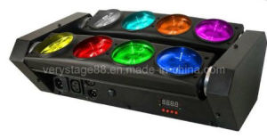 8*10W RGBW 4-in-1 LED Spider Beam Moving Head pictures & photos