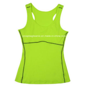 Women Tank Tops Gym Camisola Womens Gym Wear Ladies Fitness Wear pictures & photos