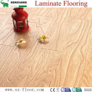 12mm European Baroque Style Synchronized Eir Surface Laminate Flooring