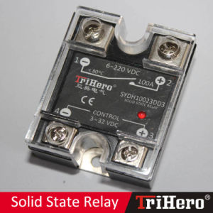 SSR 100A SSR 100dd 100A Solid State Relay, Single Phase SSR pictures & photos