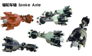 Hot Selling From Chinese Factory Germany Type Spoke Axle