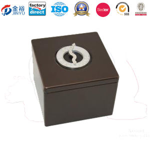 Tinplate Material Coin Bank Tin Box with Lock pictures & photos