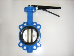Soft Sealing Wafer Butterfly Valve pictures & photos