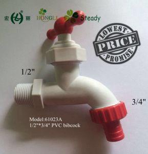 PVC T Handle Plastic Bibcock, Plastic Faucet, PVC Faucet pictures & photos