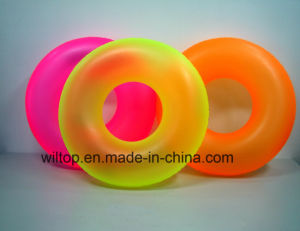 Assorted Inflatable Neon Color Swimming Rings (PM241) pictures & photos
