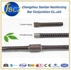 Dextra Aci-318 Standard Upset Forging Parallel Thread Rebar Sleeve Coupler pictures & photos