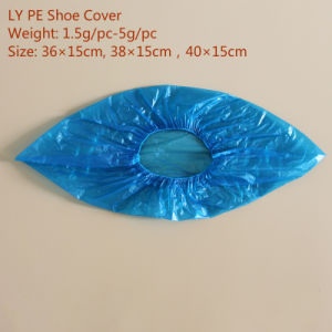 Ly Single Use PE Shoe Cover pictures & photos