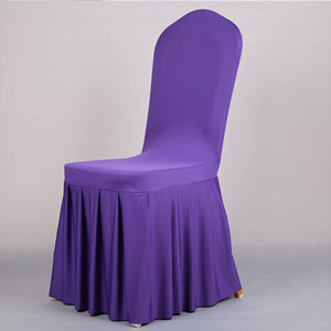 Multi-Color Ruffled Spandex Wedding Chair Cover Manufacturer pictures & photos