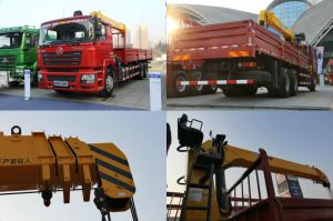Shacman 6X4 290HP Crane Truck with 10 Ton Crane pictures & photos