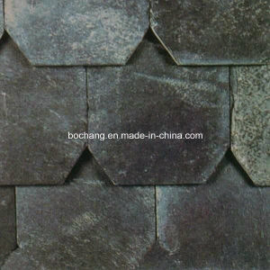 Popular Cheap Natural Black Roofing Slate pictures & photos