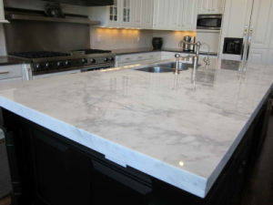 Kitchen Sink Kitchen Cabinets Artificial Stone Quartz Countertops pictures & photos