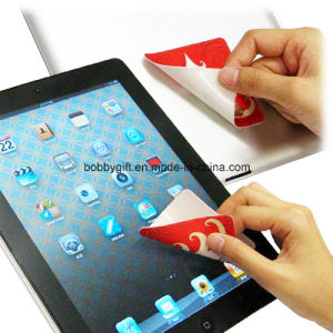 Cheap Microfiber Mobile Phone Screen Cleaner Sticker pictures & photos