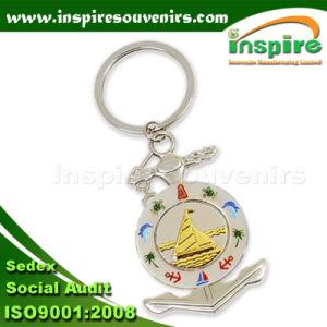 Gold Souvenir Anchor Keychain for Collection (SA191) pictures & photos