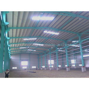 Low Cost Housing Construction Site Prefab Warehouse/Workshop for Construction Project pictures & photos