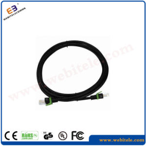 CAT6A 4*2*7/0.2cu UTP Patch Cord/Patch Cable pictures & photos