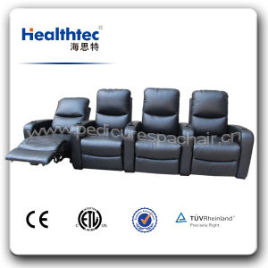 Concert Hall Theatre Cinema Movie Chair with Combine Seat (B039) pictures & photos