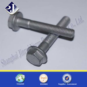 Online Shopping Flange Bolt with Dacomet Plated pictures & photos