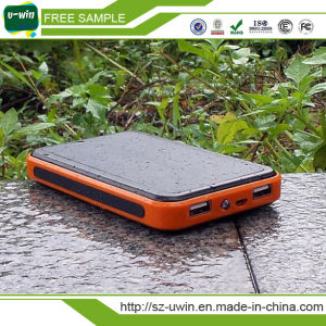 Dual USB 10000mAh Universal Waterproof Solar Power Bank pictures & photos