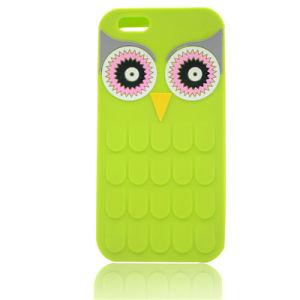 3D Cartoon Silicone Phone Case for iPhone 6s 6plus 7 Plus Mobile Phone Case (XSDW-021) pictures & photos
