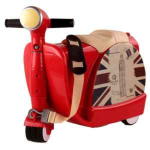 China New Design 3 Colors ABS Children Scooter Suitcase/ Trolley ...
