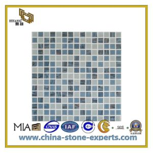 Polished Granite Marble Mosaic Tiles for Decorarion Wall/Flooring (YQC) pictures & photos