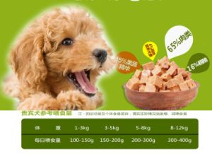 Natural Wet Beef Meat Dog Treat Beef Pet Snack Food pictures & photos