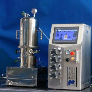 3 Liters in-Situ Sterilisable Glass Fermenter (vertical)
