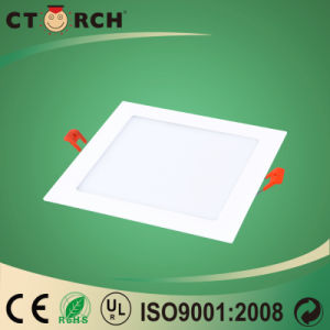 Ctorch 2017 New Super Slim Square LED Panel Light 15W with Ce Approval pictures & photos