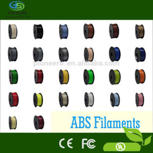 ABS/PLA Filament for 3D Priner 1.75/3mm Filament RoHS Approval pictures & photos